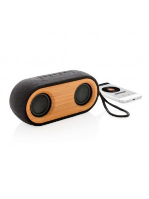 Boxa Dubla Wireless Bamboo