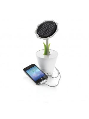 Incarcator Solar 2200 mAh, Mini Floarea Soarelui Decorativa