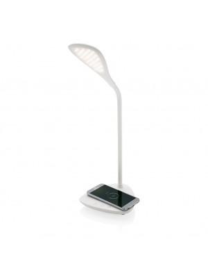 Lampa Led Birou Cu Incarcator Wireless 5W Incorporat