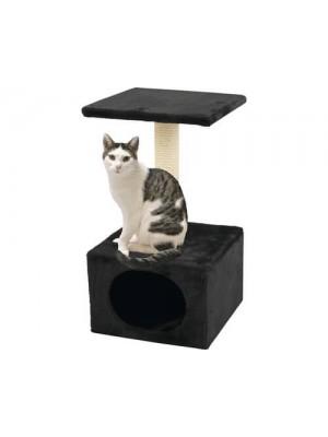 Ansamblu pentru Pisici, cu Zona pentru Ascutirea Ghearelor si Ascunzis