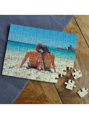 Puzzle 80 Piese Personalizat cu Poza aleasa de Tine, Sublimare