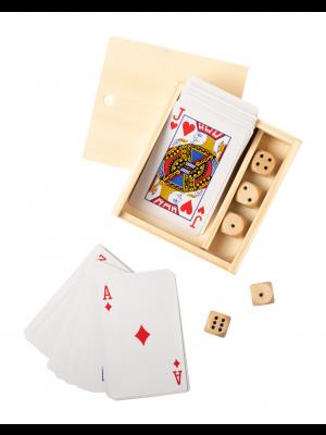 Set Carti de Joc si Zaruri Pelkat