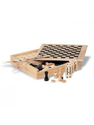 Set de 4 jocuri din lemn